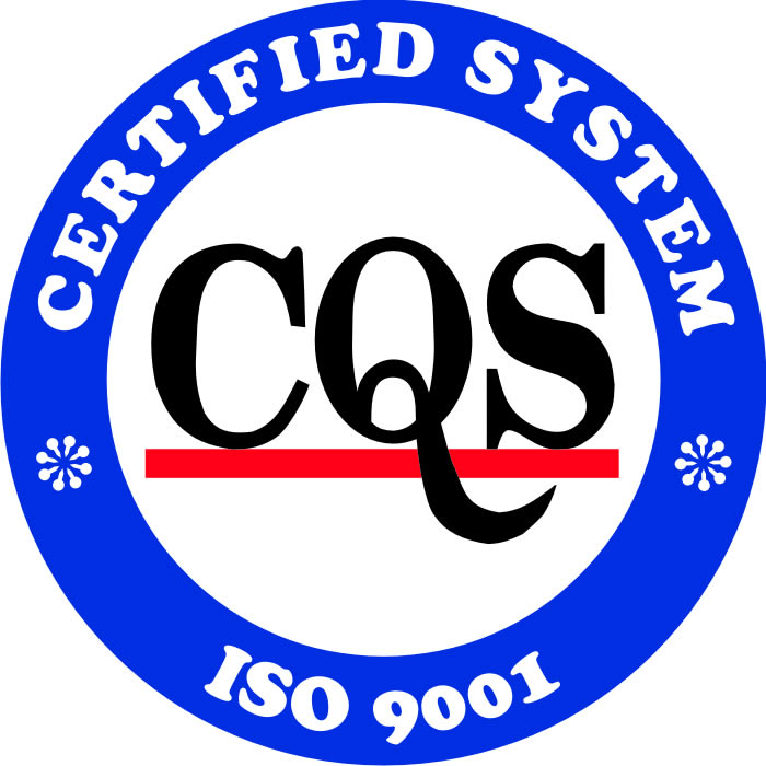 Certified System CQS ISO 9001